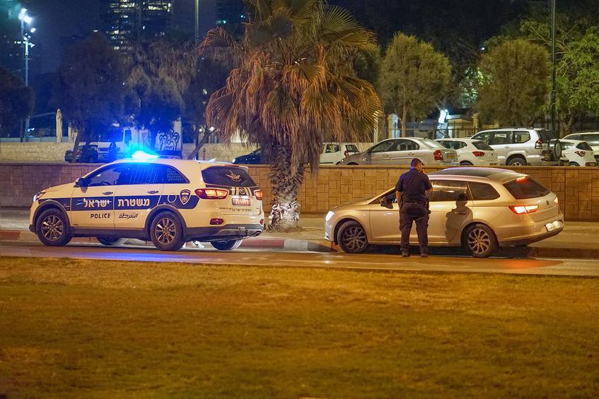 דוחות אזהרה משטרת ישראל תעבורה